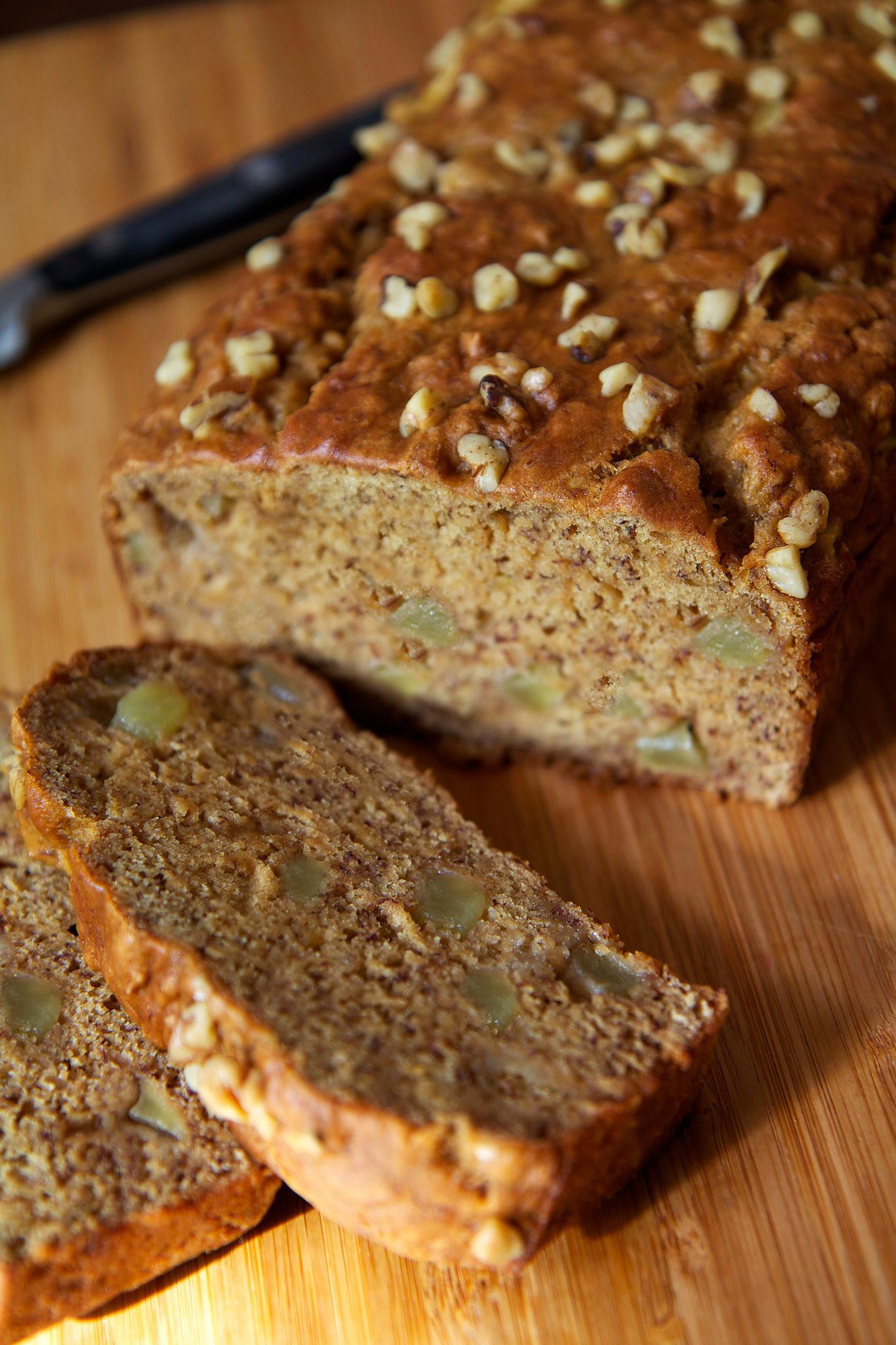 Which Bread Is Vegan  Easy And Healthy Vegan Banana Apple Chunk Bread Recipe