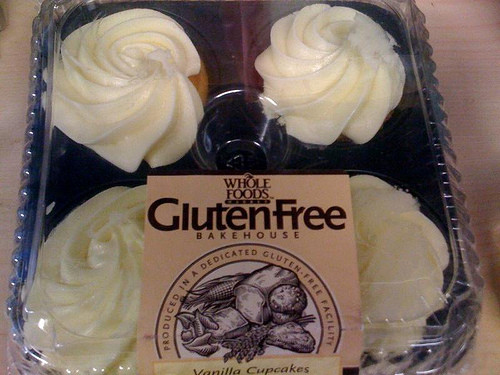 Whole Foods Gluten Free Cupcakes  Gluten free vanilla cupcakes from Whole Foods a review