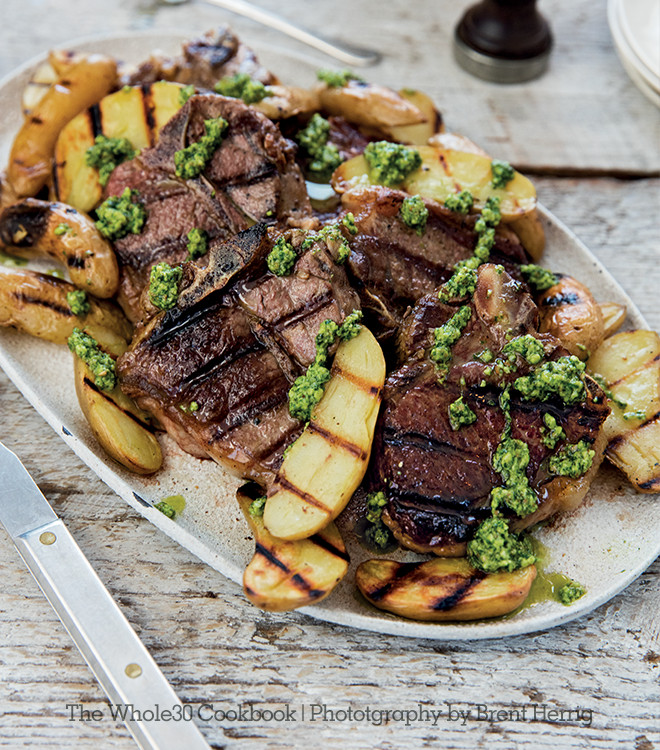 Whole30 Easter Recipes  Whole30 Recipe Grilled Lamb Chops and Fingerlings with