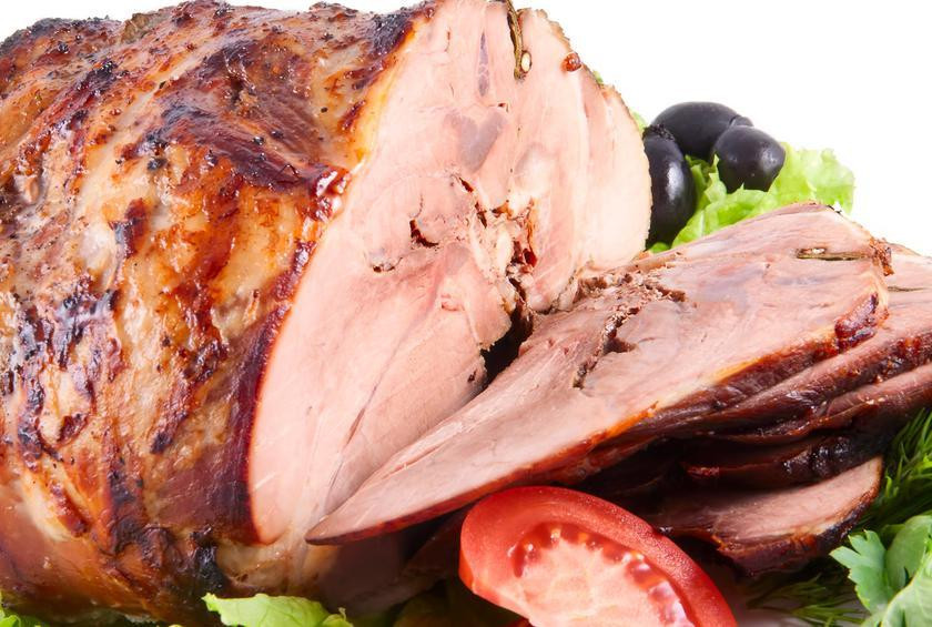 Why Do We Eat Ham On Easter  Honey Whiskey Clove Glazed Ham from 17 Recipes for the