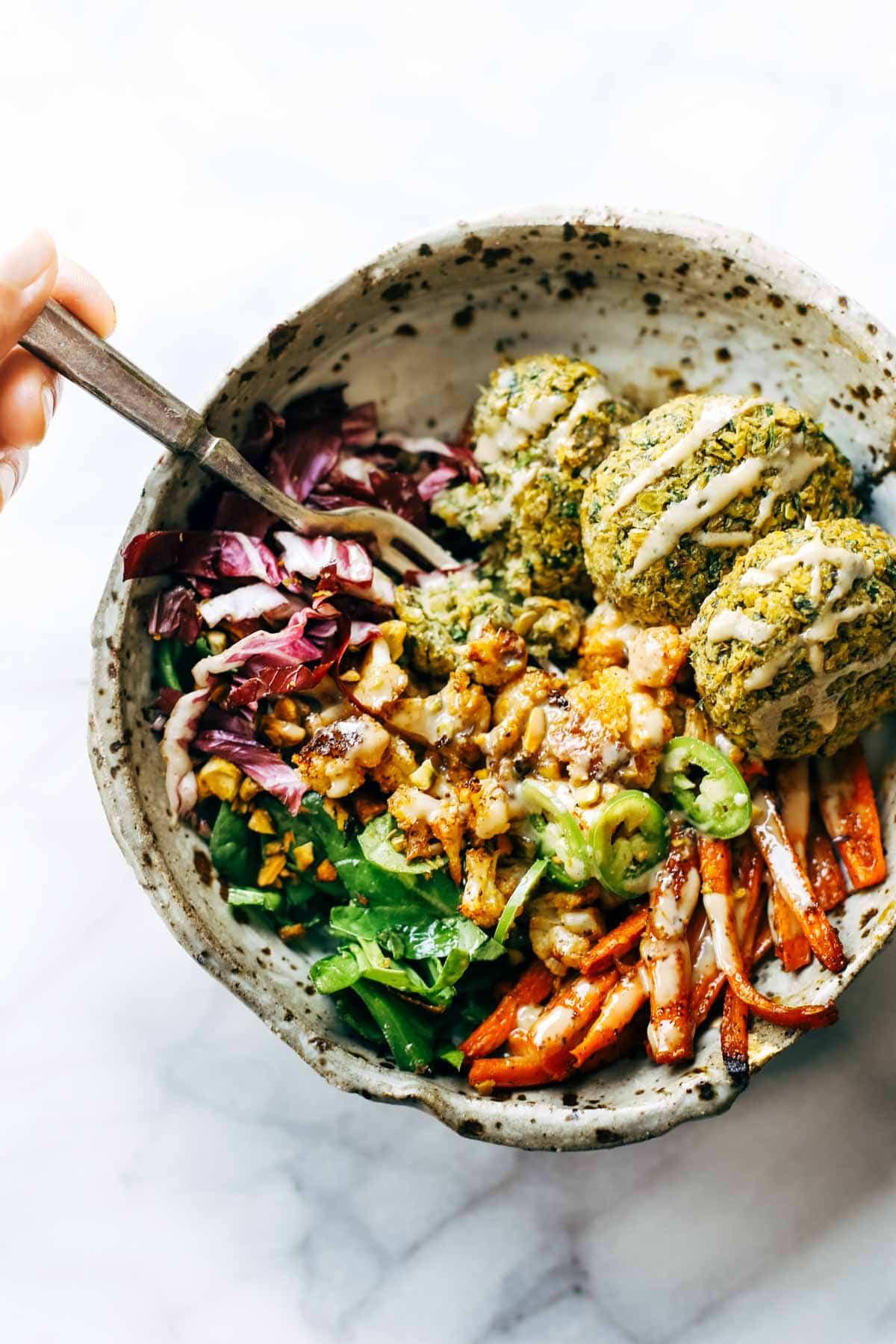 Winter Vegan Recipes  The Ultimate Winter Bliss Bowls Recipe Pinch of Yum