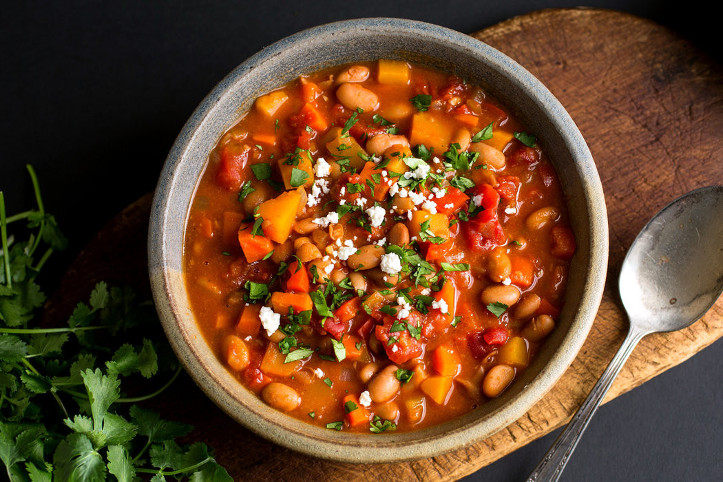 Winter Vegetarian Recipes  Ve arian Chili With Winter Ve ables The New York Times