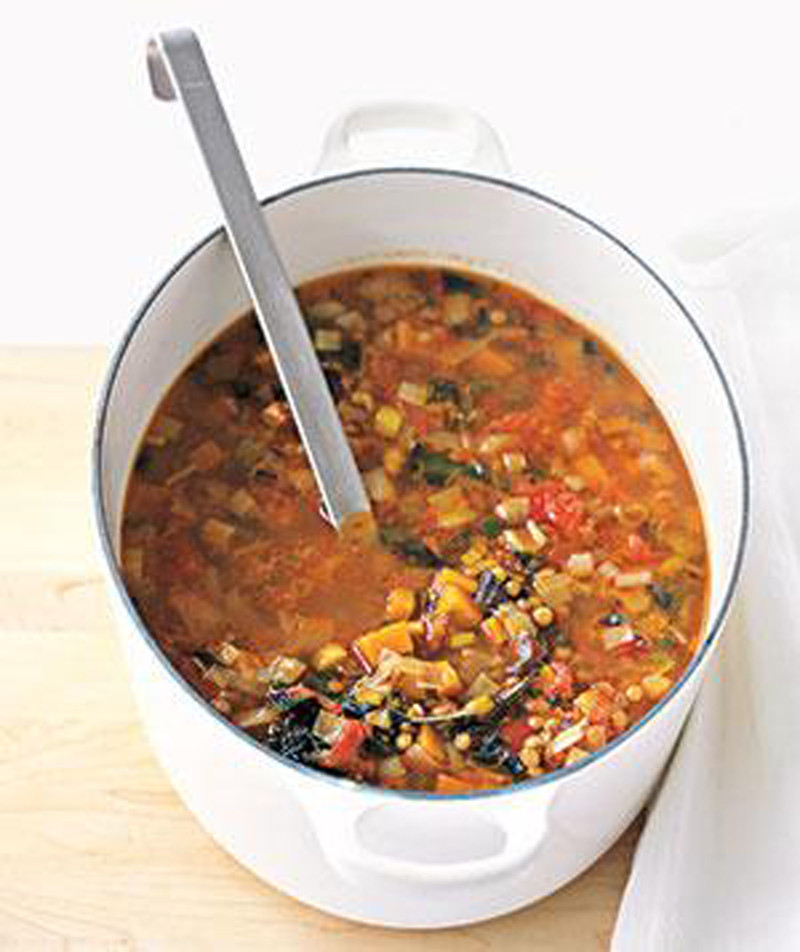 Winter Vegetarian Recipes  Winter Lentil Soup Abundant Energy