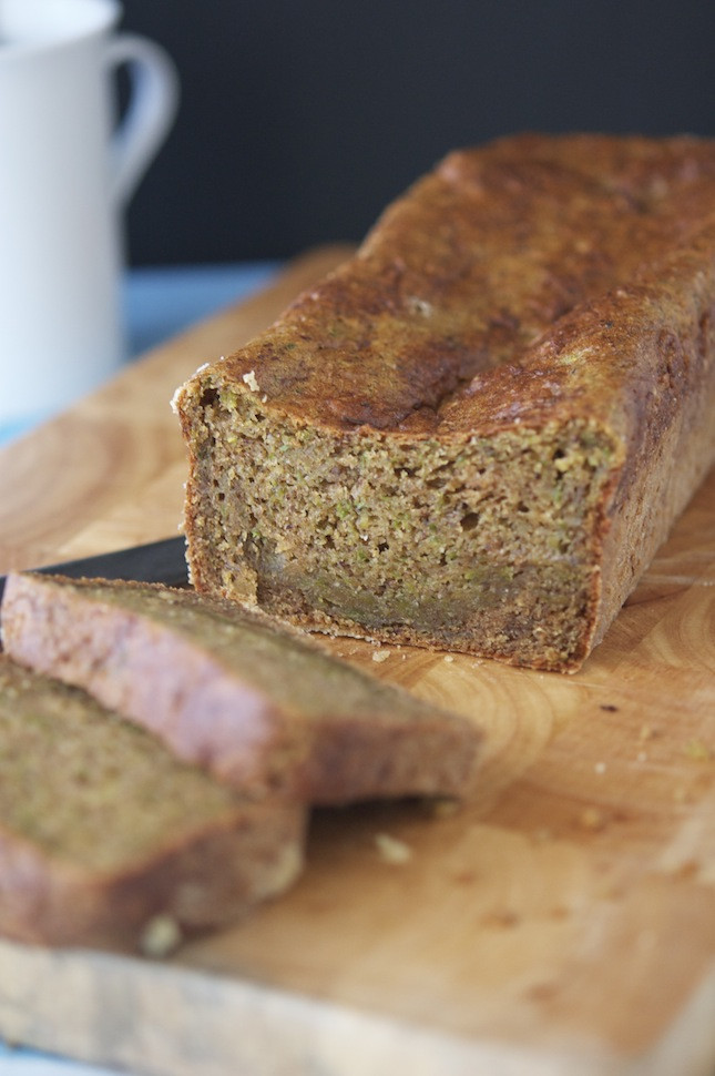 Wonder Bread Vegan  The Iron You Vegan Protein Zucchini Bread