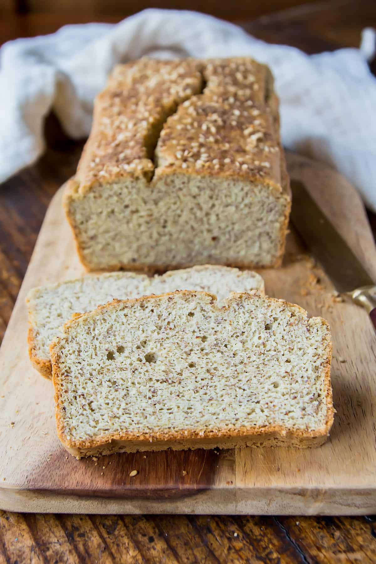 Wonder Bread Vegan  Best Coconut Flour Bread Recipe of 2018 • LeelaLicious
