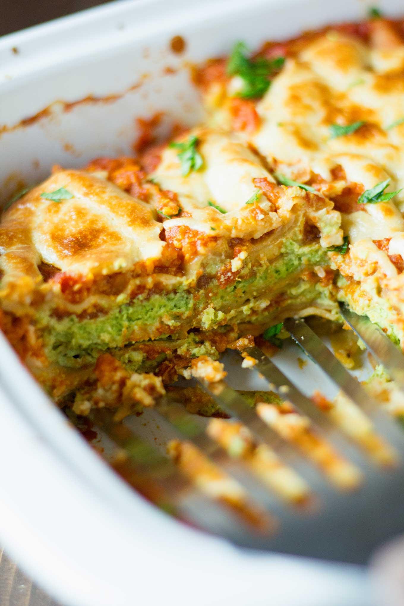 World'S Best Vegetarian Lasagna  Best Damn Vegan Lasagna