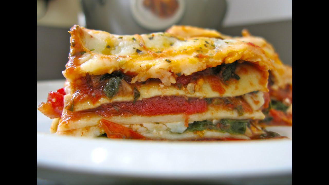 World'S Best Vegetarian Lasagna  Ve able Lasagna Best Recipes Lasagna