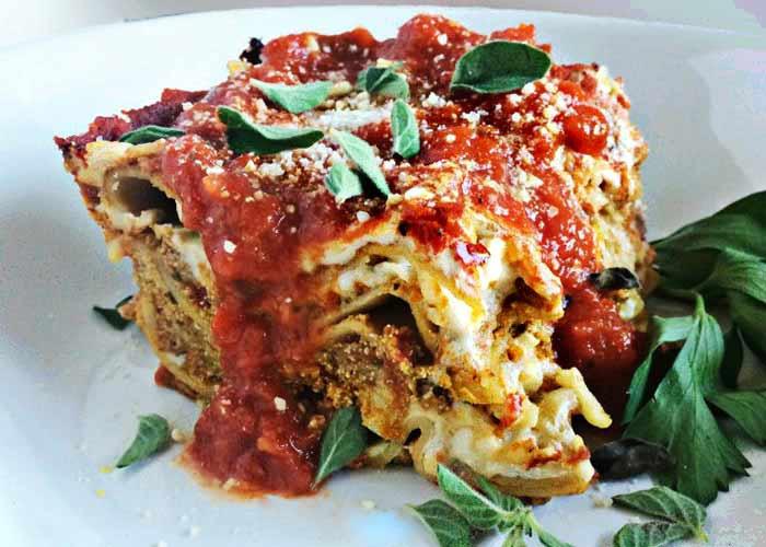 World'S Best Vegetarian Lasagna  Best Ve able Lasagna Recipe Ever No Kidding