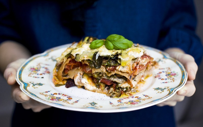 World'S Best Vegetarian Lasagna  Green Kitchen Stories World's Greatest Ve able Lasagna