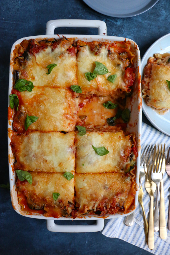 World'S Best Vegetarian Lasagna  Roasted Zucchini and Eggplant Lasagna • Hip Foo Mom