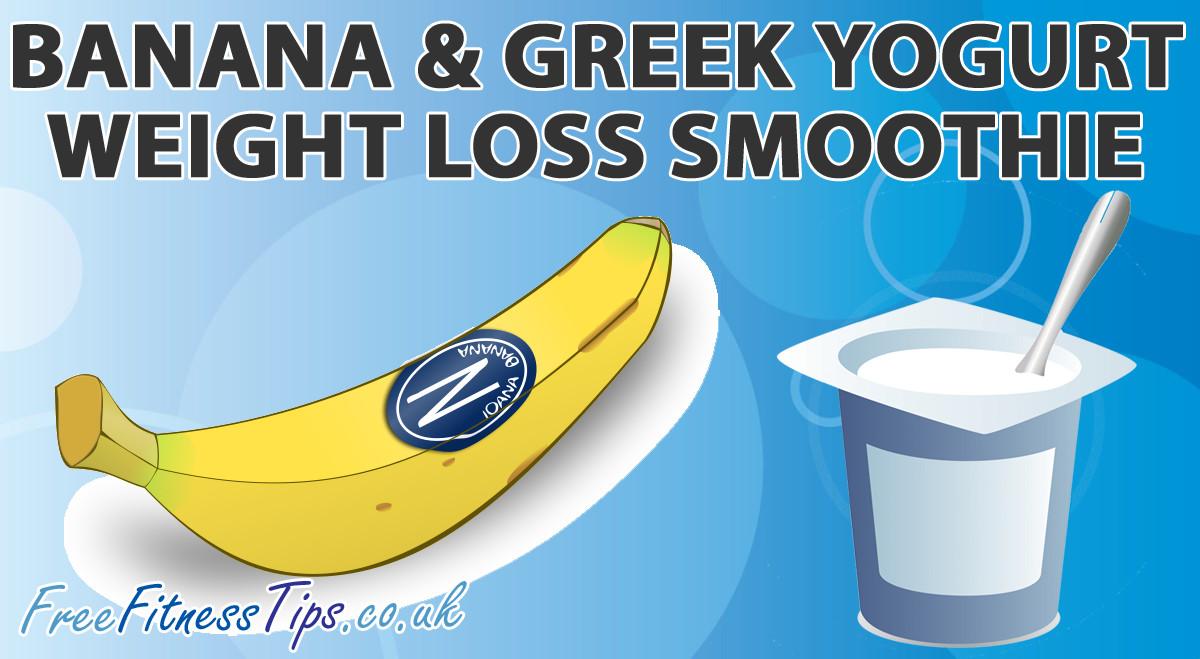 Yogurt Smoothie Recipes For Weight Loss  Banana & Greek Yogurt Weight Loss Smoothie Free Fitness Tips