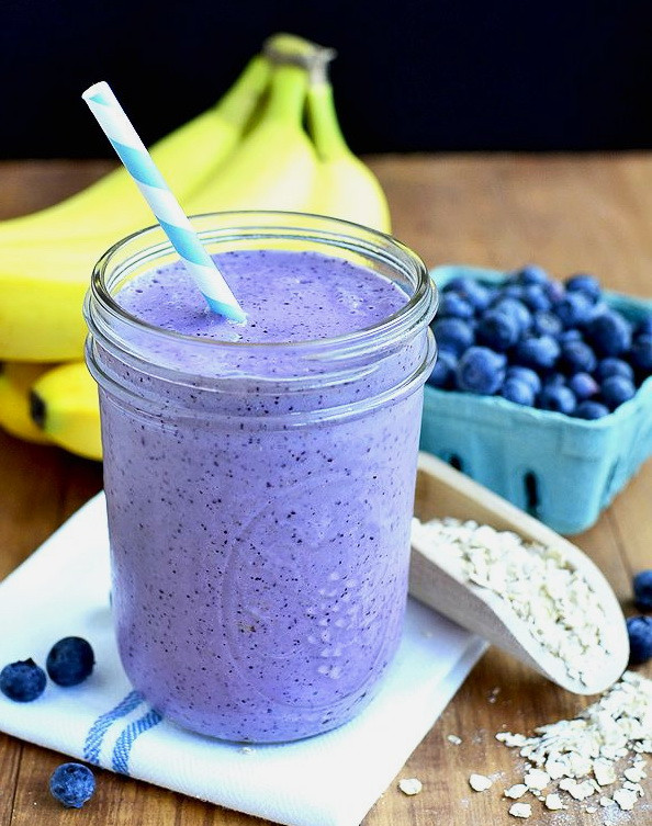 Yogurt Smoothie Recipes For Weight Loss  Blueberry Yogurt Breakfast Smoothie – Top Healthy Calorie