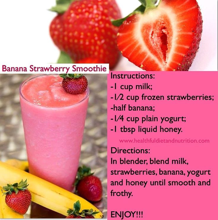 Yogurt Smoothie Recipes For Weight Loss  Weight loss smoothie recipes Diet smoothie recipes Most