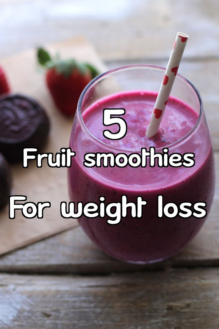 Yogurt Smoothie Recipes For Weight Loss  Lose weight and kickstart your metabolism with these