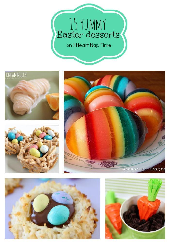 Yummy Easter Desserts  25 Wonderful DIY Easter Bunny Cakes
