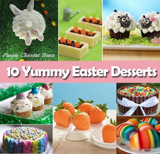 Yummy Easter Desserts  10 Yummy Easter Desserts