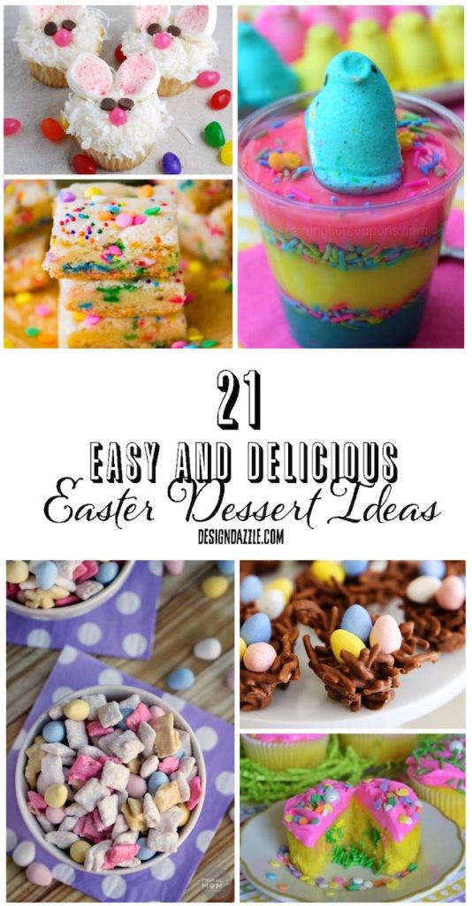 Yummy Easter Desserts  21 Easy and Delicious Easter Dessert Ideas Design Dazzle