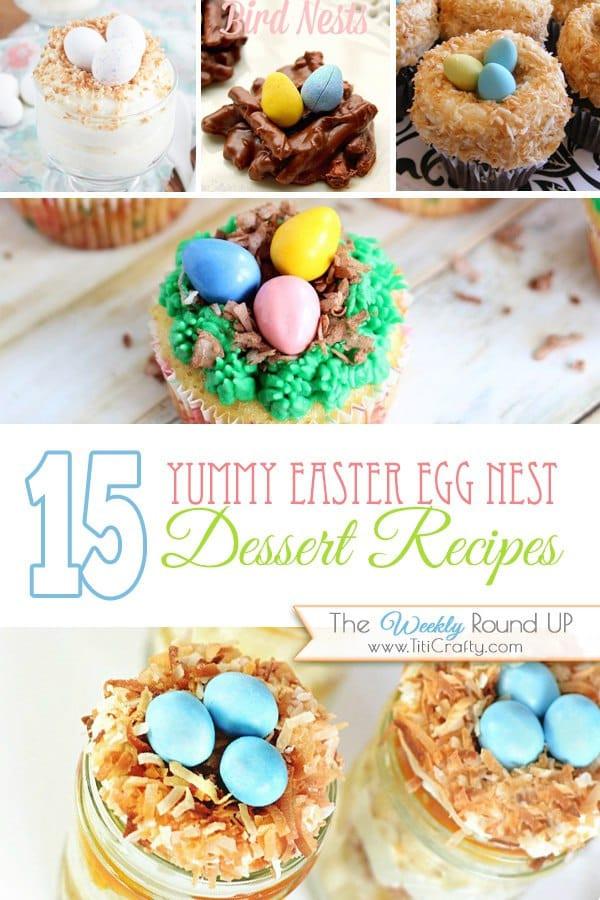 Yummy Easter Desserts  15 Yummy Easter Egg Nest Desserts