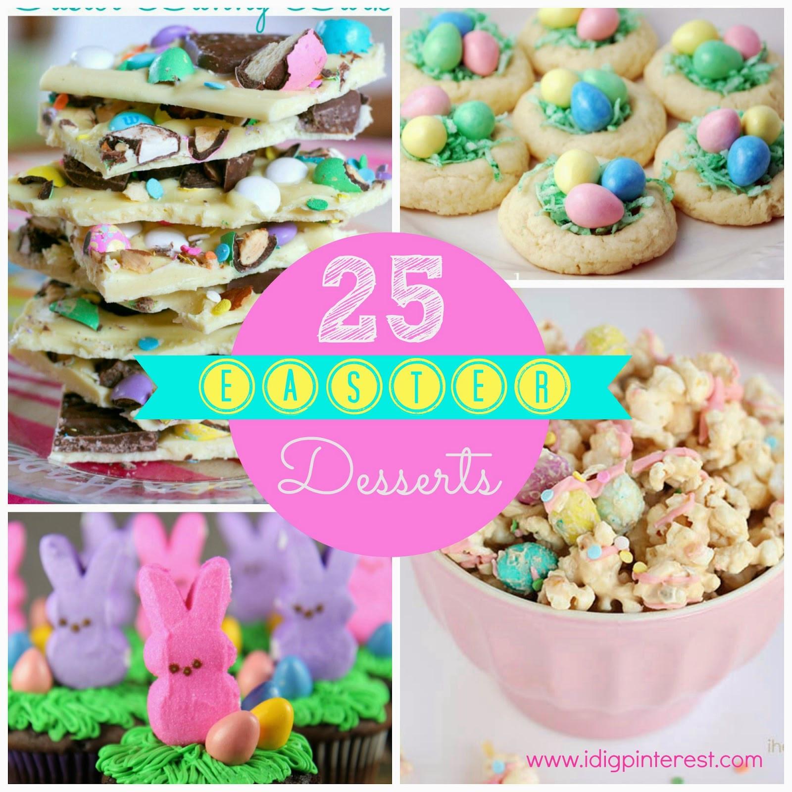 Yummy Easter Desserts  25 Pretty & Yummy Easter Desserts I Dig Pinterest