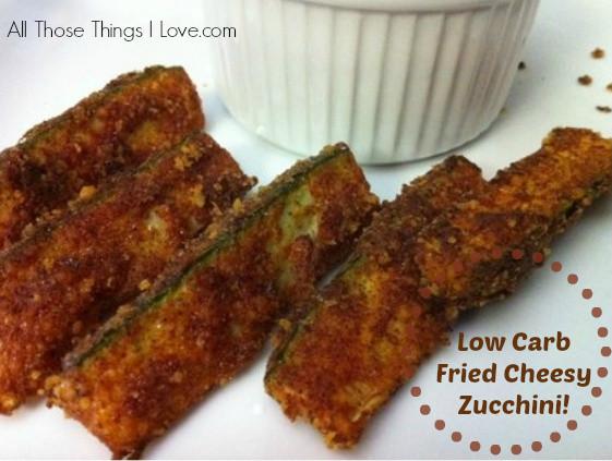 Zucchini Recipes Low Carb  Recipe Low Carb Fried Cheesy Zucchini Perfect Super