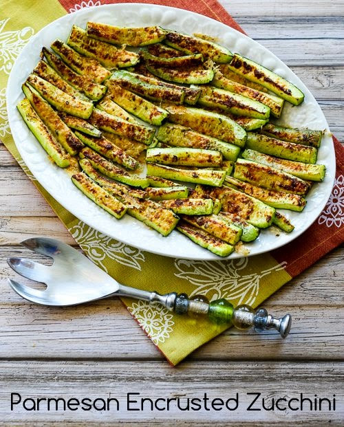 Zucchini Recipes Low Carb  Parmesan Encrusted Zucchini Recipe Low Carb Gluten Free