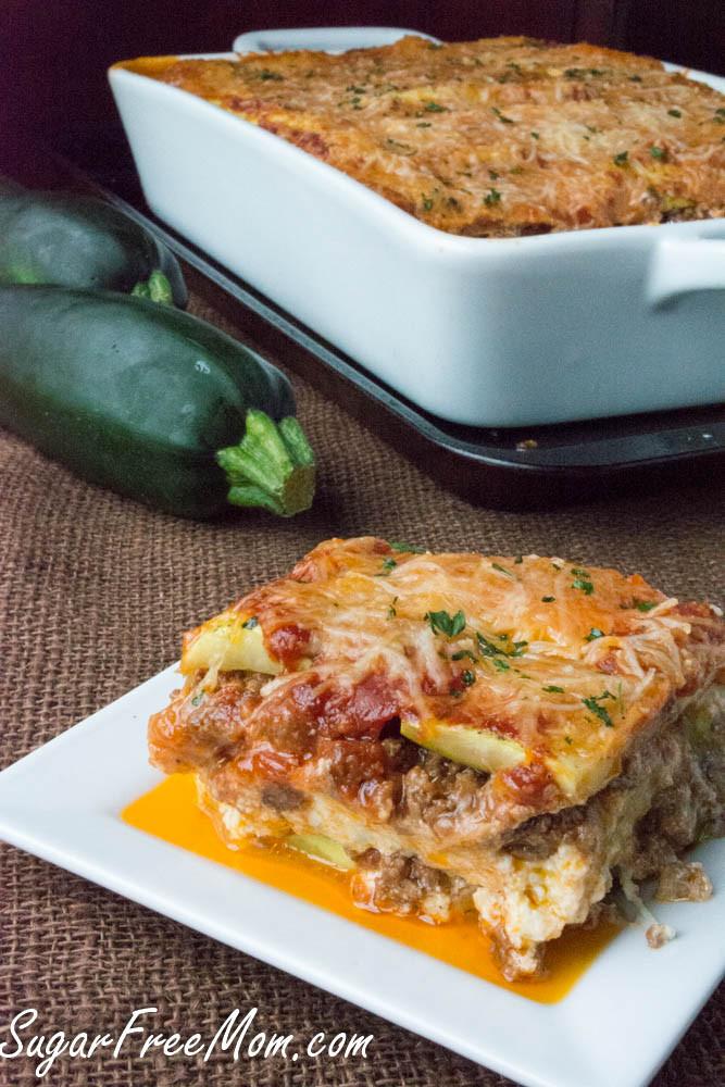 Zucchini Recipes Low Carb  low carb lasagna zucchini
