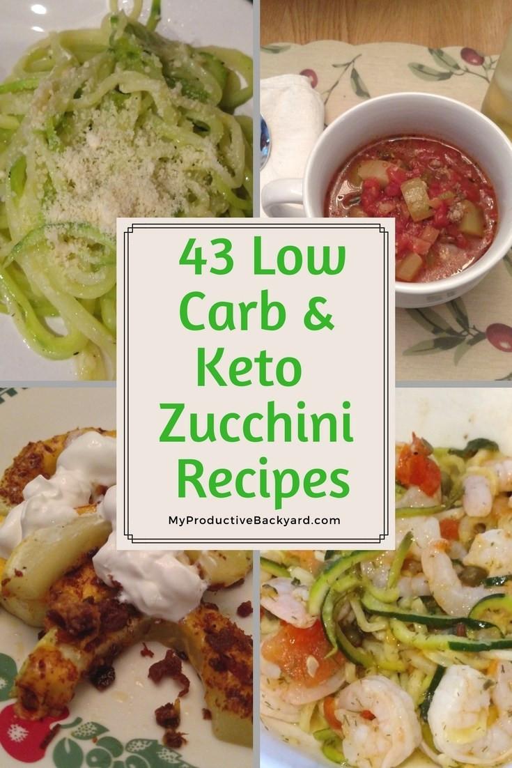 Zucchini Recipes Low Carb  43 Low Carb Keto Zucchini Recipes My Productive Backyard