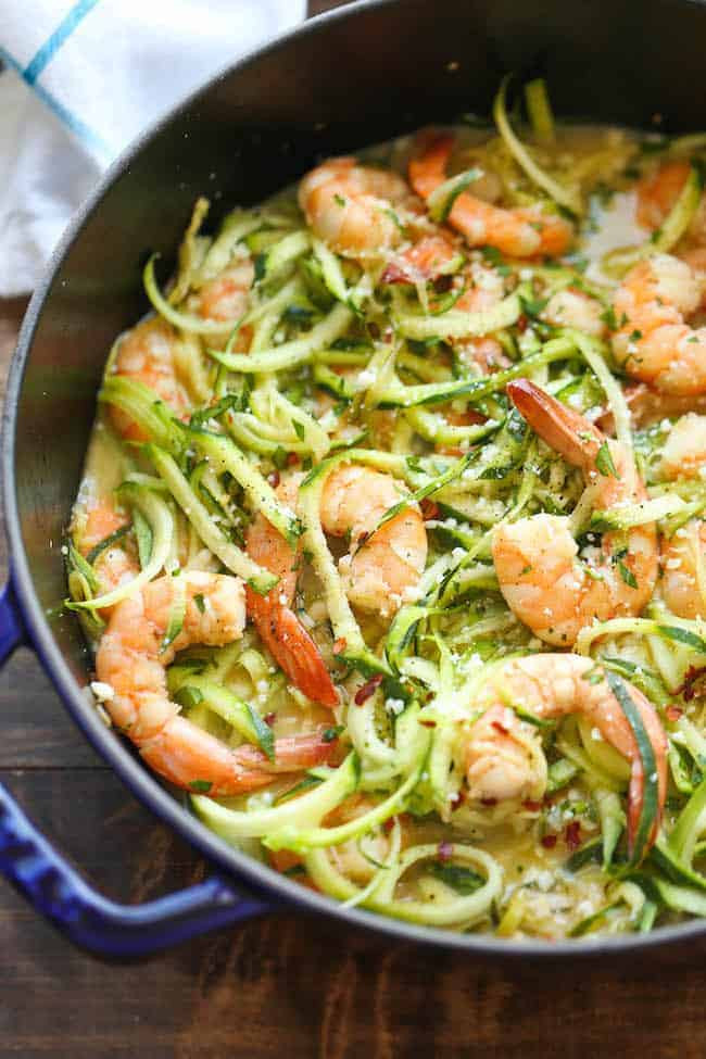 Zucchini Recipes Low Carb  50 Best Low Carb Pasta Recipes for 2018