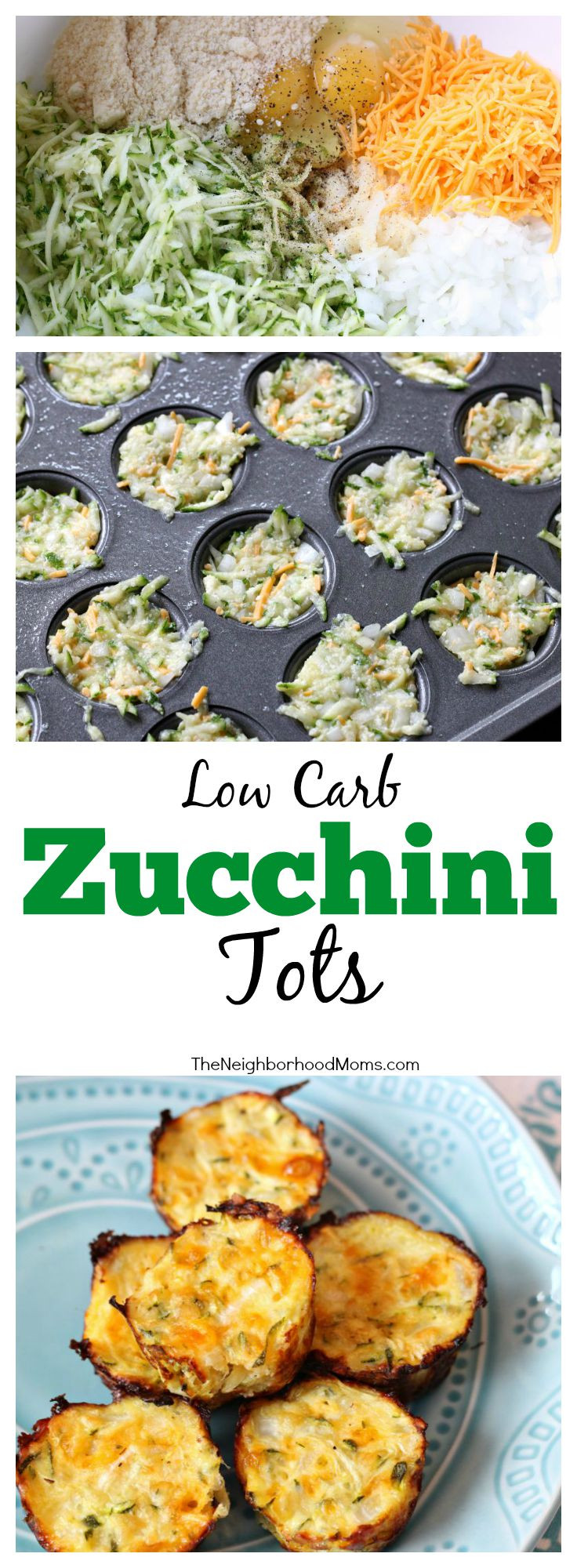 Zucchini Recipes Low Carb  Low Carb Zucchini Tots The Neighborhood Moms
