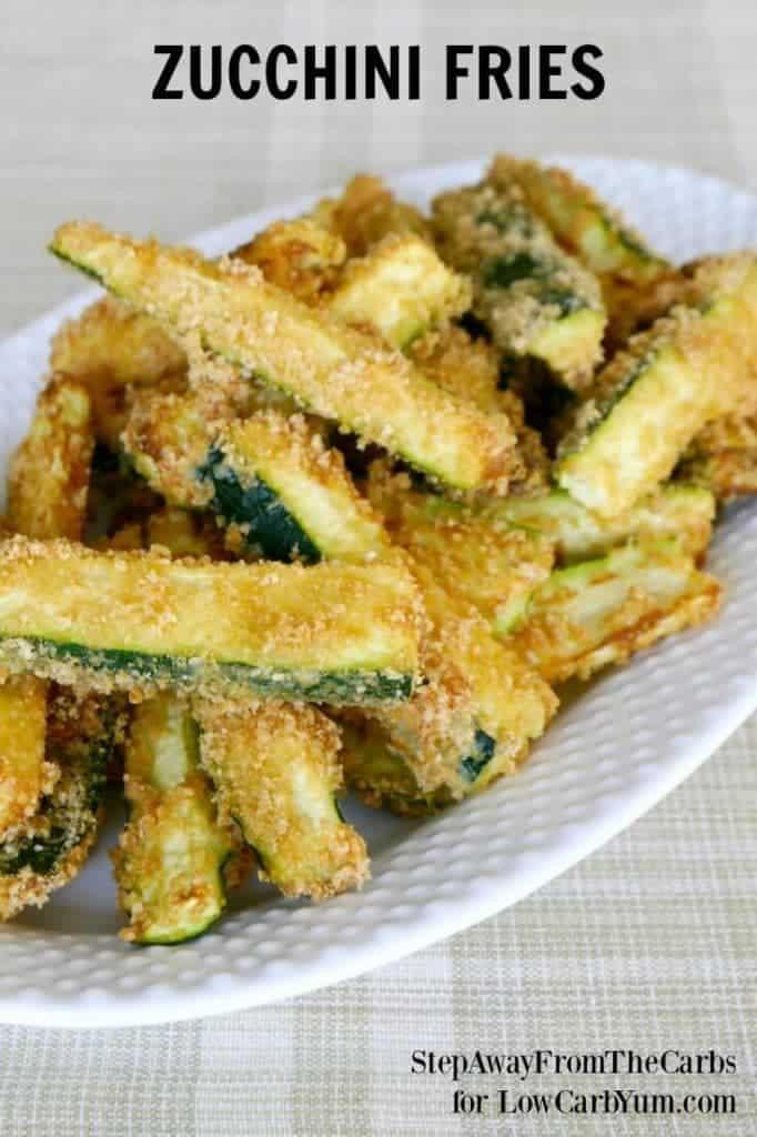 Zucchini Recipes Low Carb  Low Carb Zucchini Fries Recipe Gluten Free