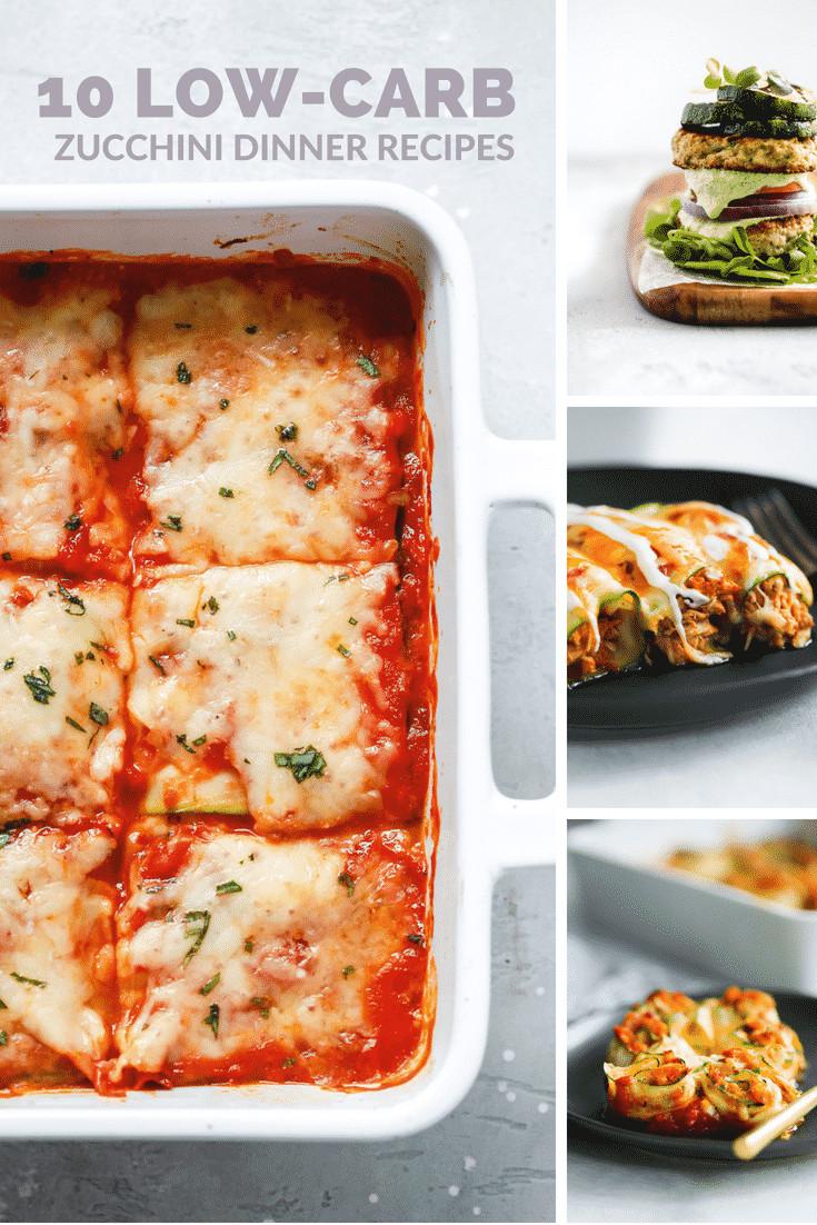 Zucchini Recipes Low Carb  10 Low Carb Zucchini Dinner Recipes Primavera Kitchen