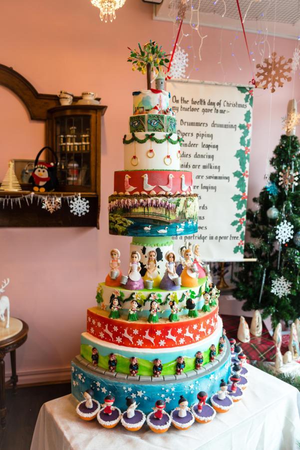 12 Days Of Christmas Cakes  The Twelve Days of Christmas cake by Melanie CakesDecor