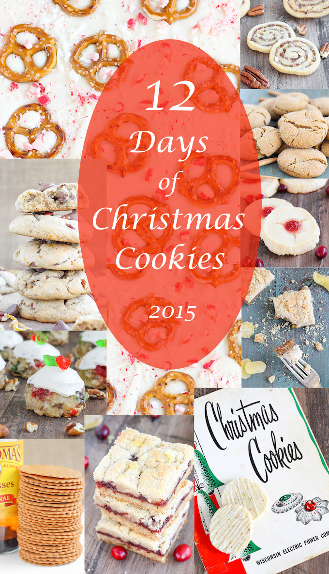 12 Days Of Christmas Cookies  12 Days of Christmas Cookies 2015 American Heritage Cooking
