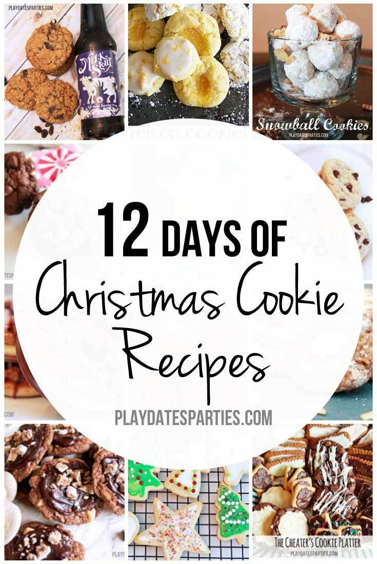 12 Days Of Christmas Cookies  12 Days of Christmas Cookie Recipes