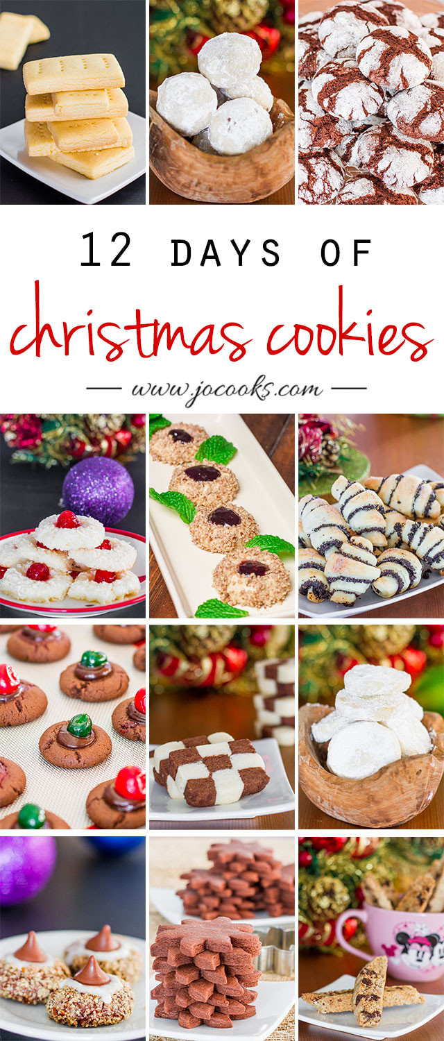 12 Days Of Christmas Cookies  12 Days of Christmas Cookies Jo Cooks
