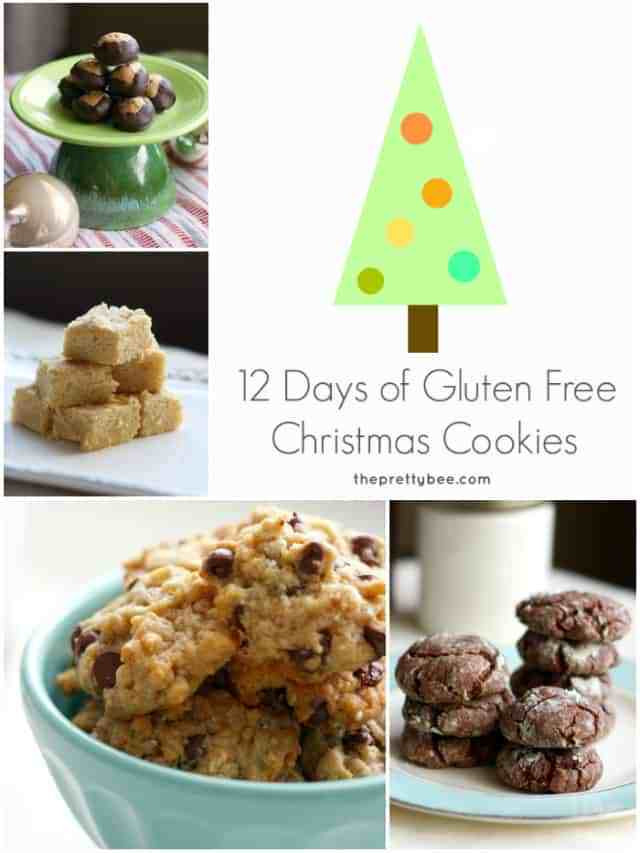 12 Days Of Christmas Cookies  12 Days of Gluten Free Christmas Cookies The Pretty Bee
