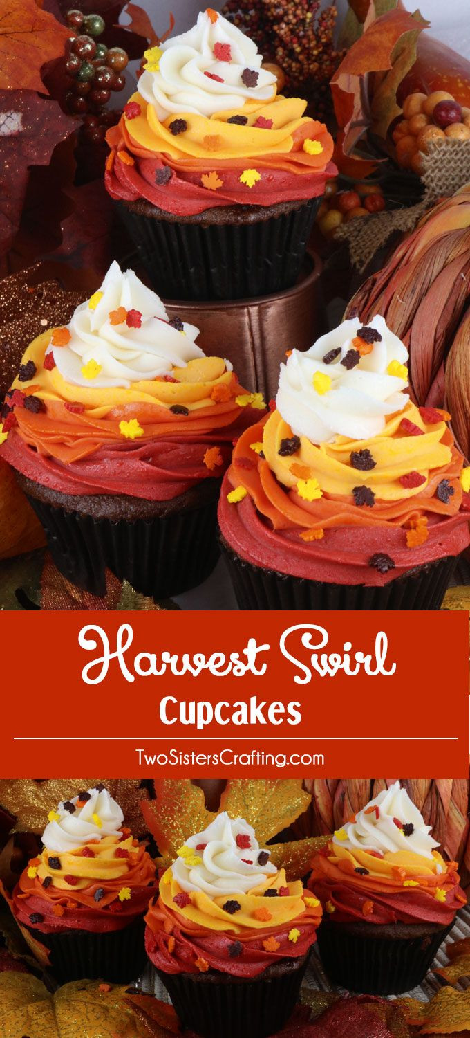 25 Fabulous Autumn Fall Cupcakes  Best 25 Autumn cupcakes ideas on Pinterest