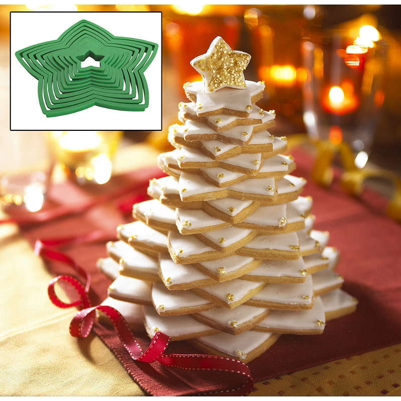 3D Christmas Tree Cookies  Marks and Spencer – Cake blog with recipes and reviews