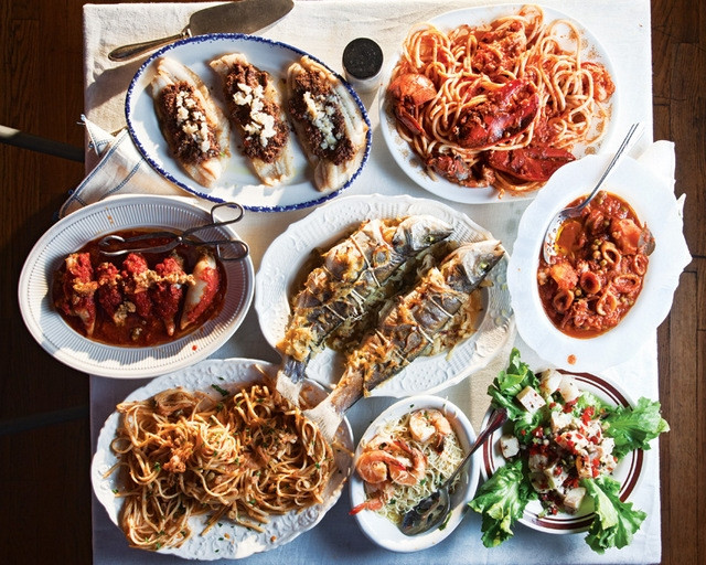 7 Fish Italian Christmas Eve Recipes  Strada Italiano to hold Feast of the Seven Fishes on