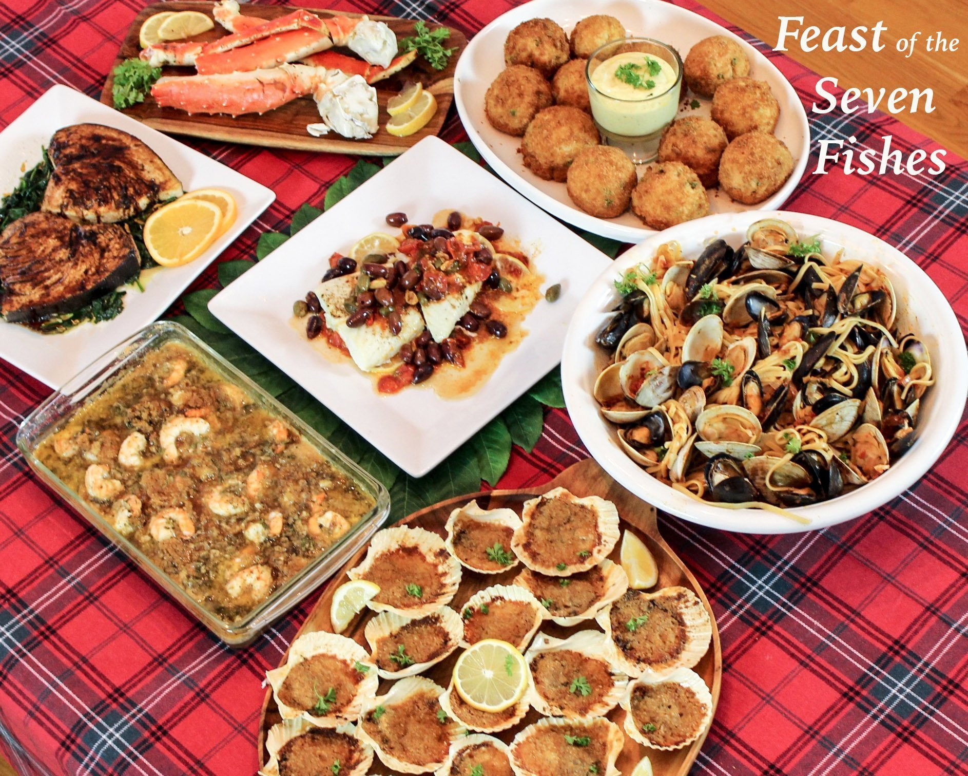 7 Fish Italian Christmas Eve Recipes  Feast of the Seven Fishes A Sicilian Christmas Eve Dinner