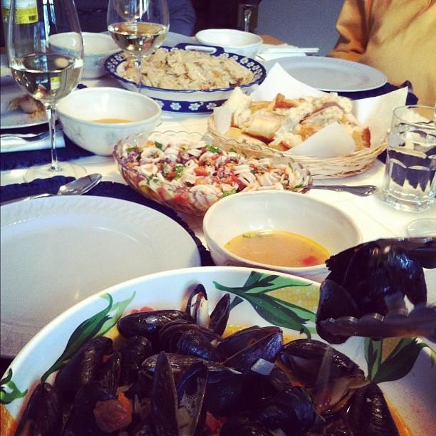 7 Fish Italian Christmas Eve Recipes  Seven Fish Feast an Italian Christmas eve by spantil via