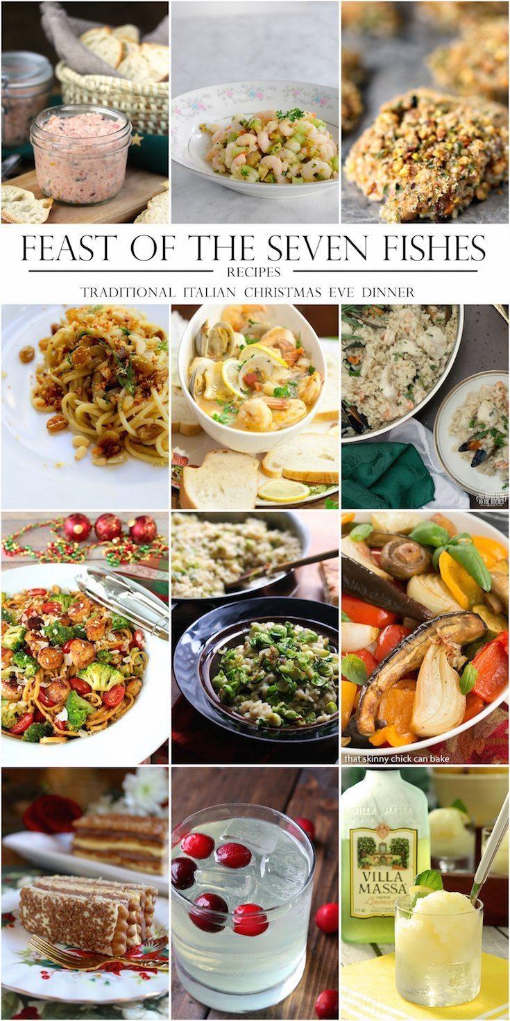 7 Fish Italian Christmas Eve Recipes  Marinated Shrimp Salad gluten free paleo A Healthy