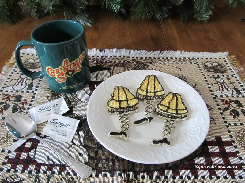 A Christmas Story Cookies  A Christmas Story Leg Lamp Crochet Pattern