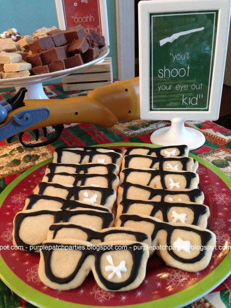 A Christmas Story Cookies  1000 ideas about Christmas Party Themes on Pinterest