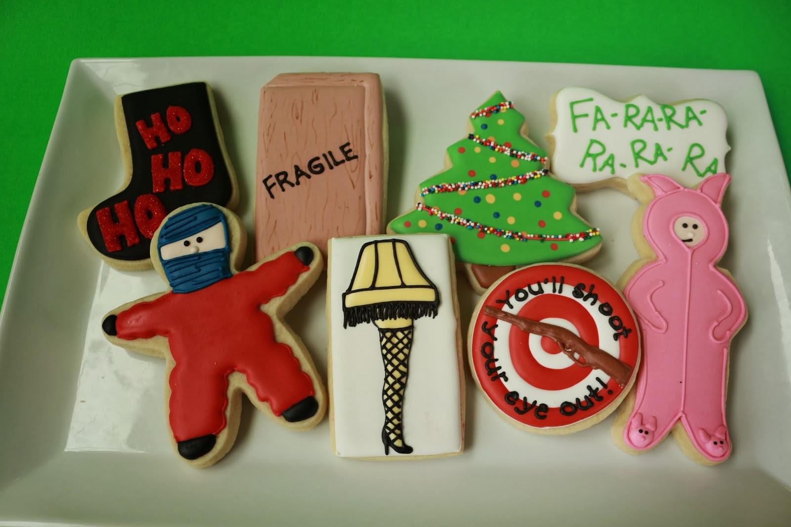 A Christmas Story Cookies  Jaclyn s Cookies Christmas Cookies