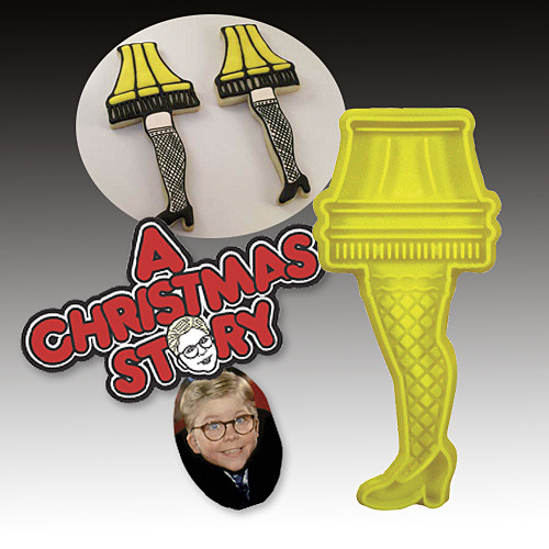 A Christmas Story Cookies  A Christmas Story Leg Lamp Cookie Cutter
