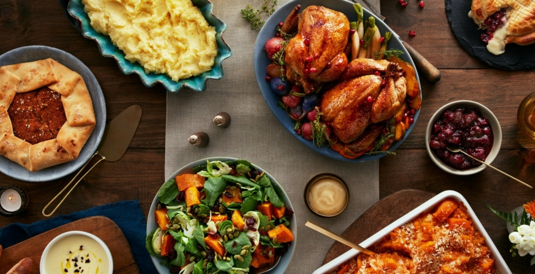 Aj'S Fine Foods Thanksgiving Dinners  Where to Thanksgiving Dinner to go in Toronto 2017