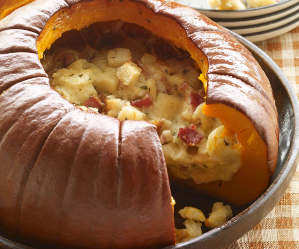 Aj'S Fine Foods Thanksgiving Dinners  Pumpkin Stuffed with Everything Good Recipe FineCooking