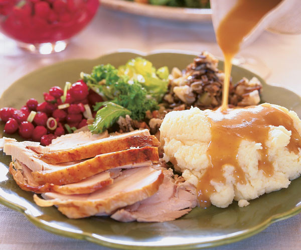 Aj'S Fine Foods Thanksgiving Dinners  Roasted Turkey with Apple Cider Thyme Gravy Recipe