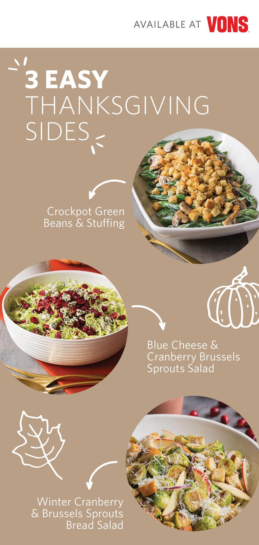 Albertsons Thanksgiving Dinners  Vons Thanksgiving Deals